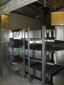 Plant room 3 x ducted units